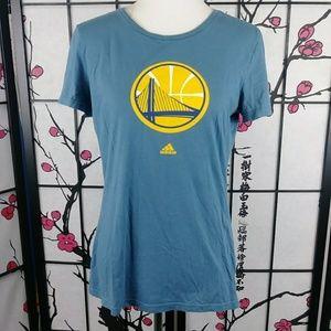 🌼 GSW Adidas Golden State Warriors Graphic Tee
